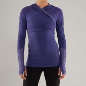 Lululemon Run For Your Life Pullover purple size 8